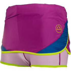 La Sportiva Comet Skirt Women Purple/Cobalt Blue